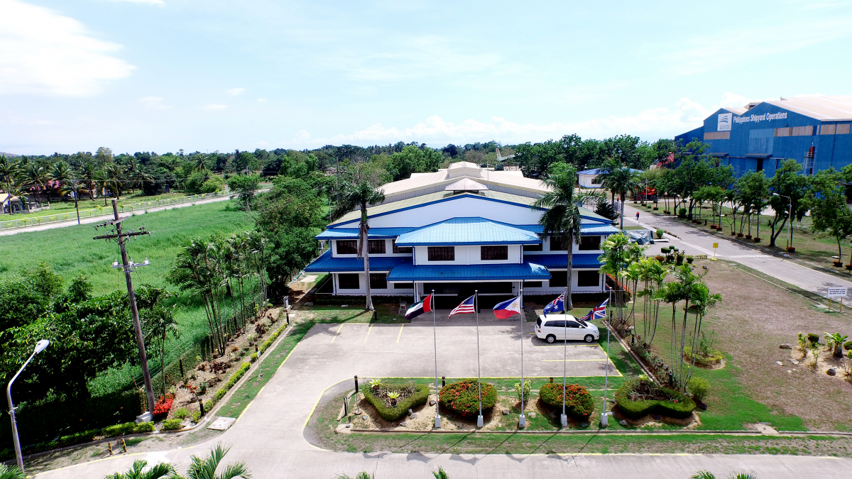 Austal Philippines Admin Office in Balamban, Cebu
