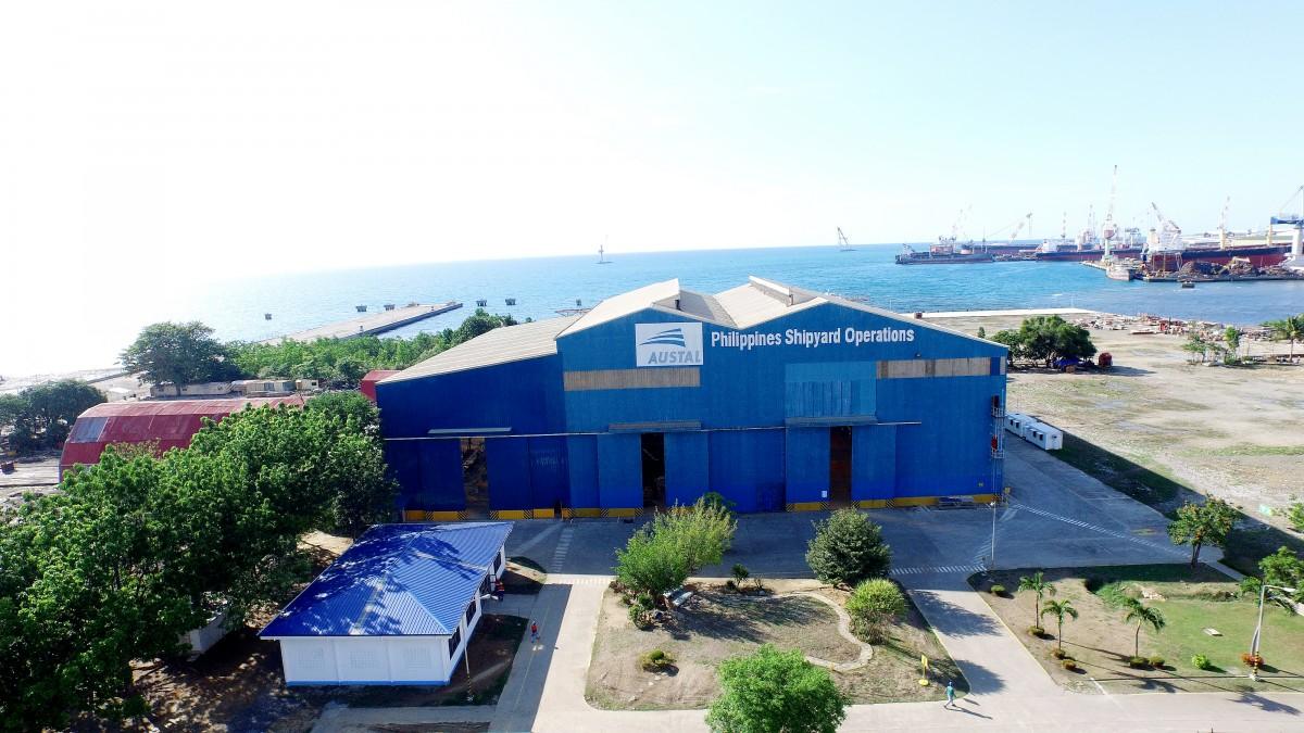 Austal Philippines shipyard in Balamban, Cebu