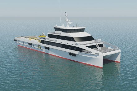 Austal 57m High Speed Catamaran Crew Boat