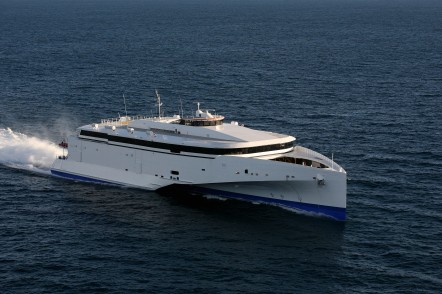 102m next generation high-speed vehicle passenger ferry