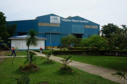 Austal Philippines Shipyard Operations in Balamban, Cebu