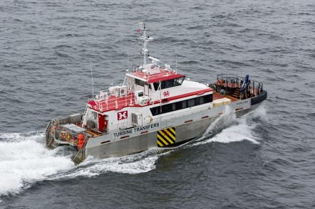 Austal Wind Express 27 - Church Bay, one 27m wind farm support vessel for Turbine Transfers Ltd of Europe