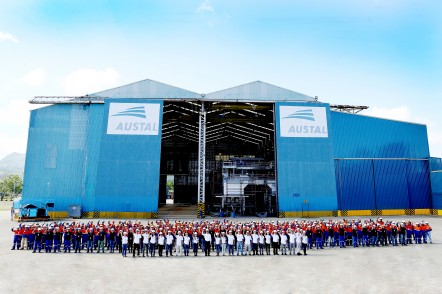 Austal Philippines production facilities in Balamban, Cebu