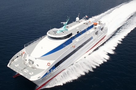 Sea trials for GHAGHA-1, one 45m crew transfer vessel for the Abu Dhabi National Oil Company (ADNOC)
