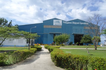 Austa Philippines Shipyard Operations in Balamban, Cebu