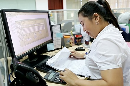 Austal Philippines Admin staff in Balamban, Cebu